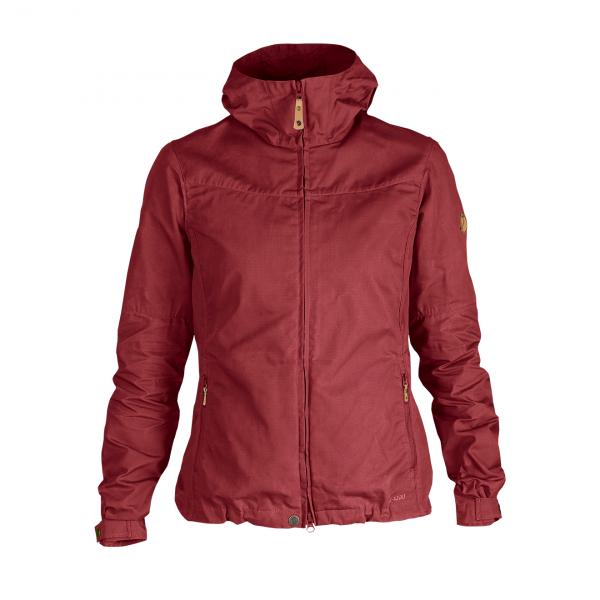Fjallraven Womens Stina Jacket Raspberry Red