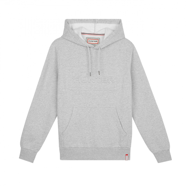 Hunter Womens Original Hoodie Grey Marl