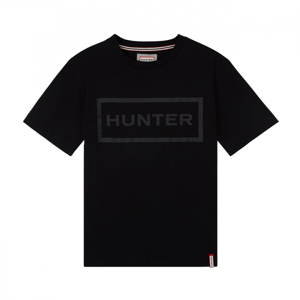Hunter Womens Original Logo T-Shirt Black
