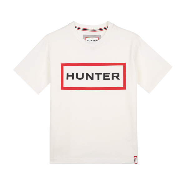Hunter Womens Original Logo T-Shirt White
