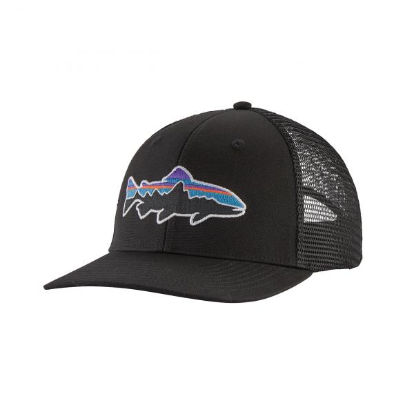 Patagonia Fitz Roy Trucker Hat Black