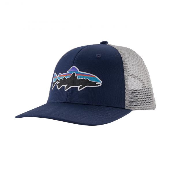 Patagonia Fitz Roy Trucker Hat Classic Navy