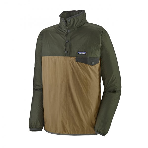 Patagonia Houdini Snap-T Pullover Fleece Classic Tan
