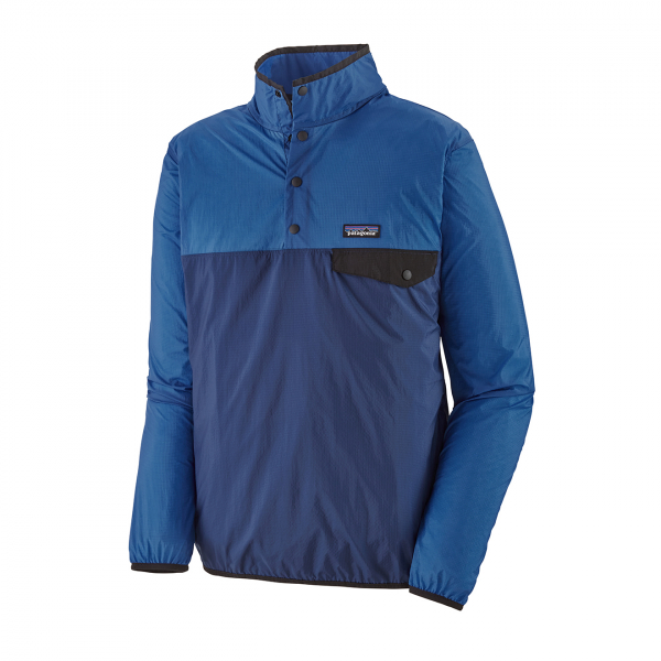 Patagonia Houdini Snap-T Pullover Fleece Superior Blue