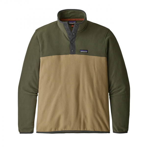 Patagonia Micro D Snap-T Fleece Pullover Classic Tan