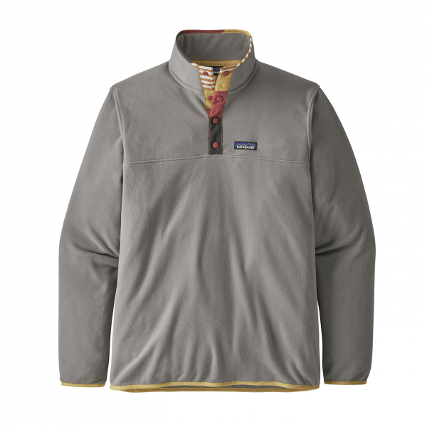Patagonia Micro D Snap-T Fleece Pullover Feather Grey