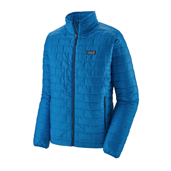Patagonia Nano Puff Jacket Andes Blue With Andes Blue