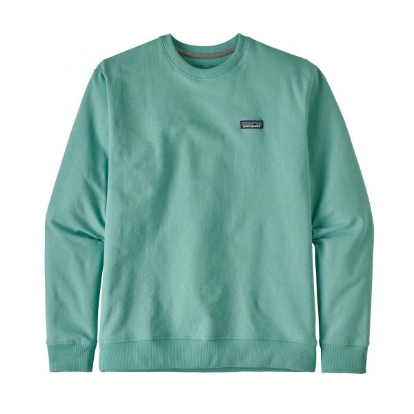 Patagonia P-6 Label Uprisal Crew Sweatshirt Light Beryl Green