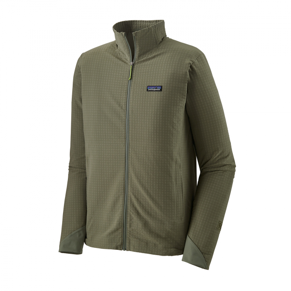Patagonia R1 TechFace Jacket Industrial Green