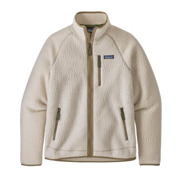 Patagonia Retro Pile Fleece Jacket Natural