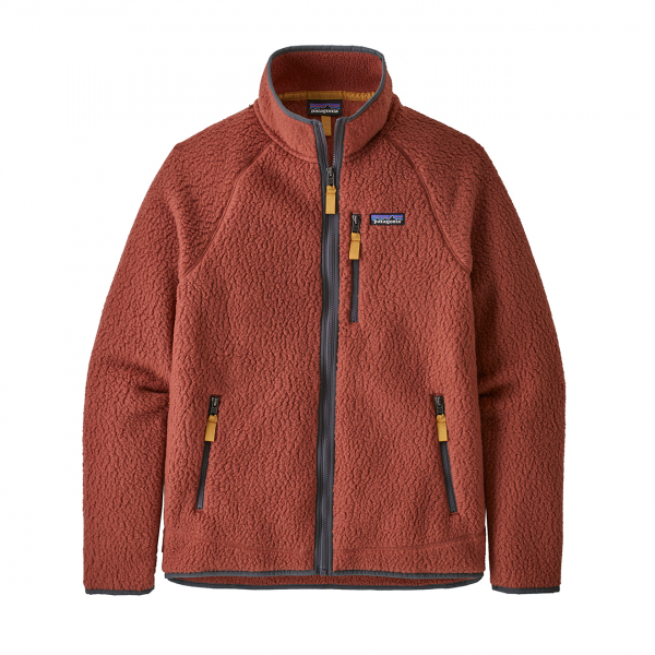 Patagonia Retro Pile Fleece Jacket Spanish Red