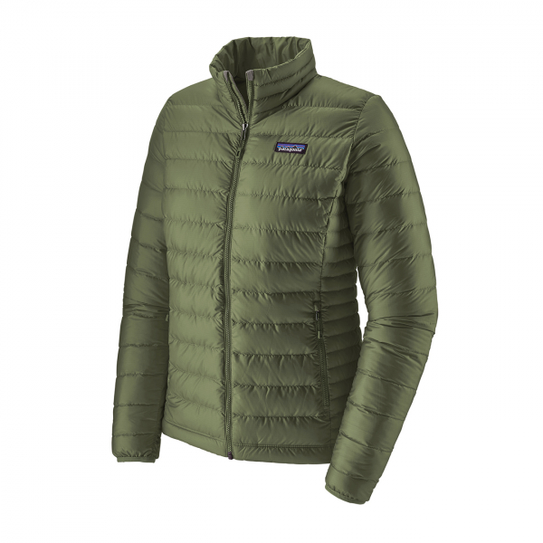 Patagonia Womens Down Sweater Jacket Camp Green