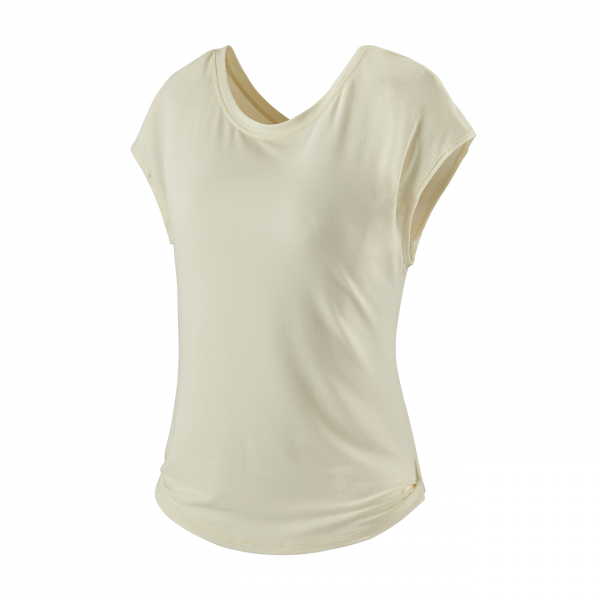 Patagonia Womens Glorya Twist Top White Wash