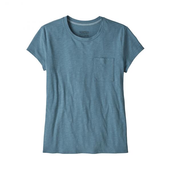 Patagonia Womens Mainstay T-Shirt Pigeon Blue