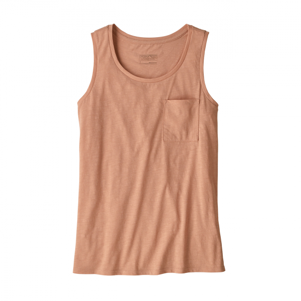 Patagonia Womens Mainstay Tank Top Scotch Pink