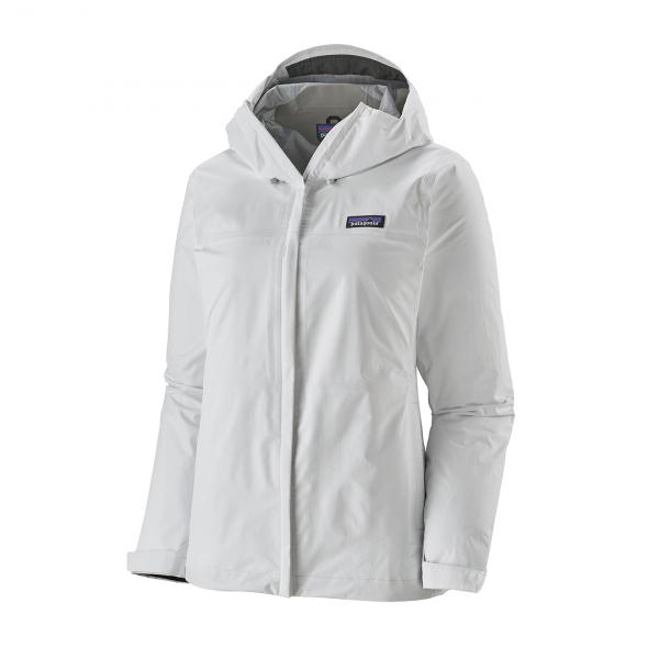 Patagonia Womens Torrentshell 3L Jacket Birch White