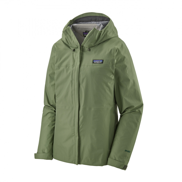 Patagonia Womens Torrentshell 3L Jacket Camp Green