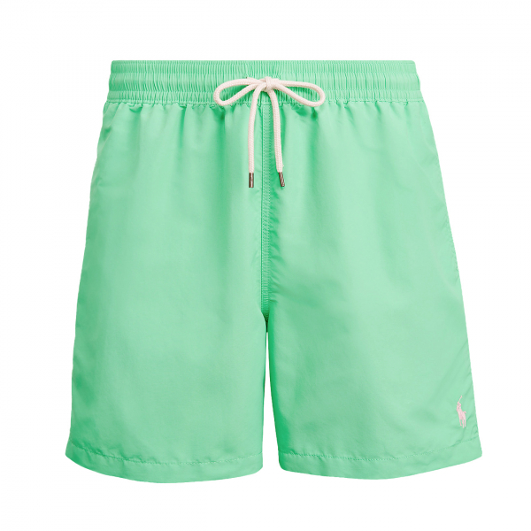 "Polo Ralph Lauren 5"" Traveller Swim Short Hawaiian Green"