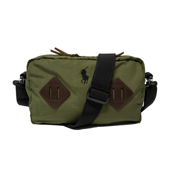 Polo Ralph Lauren Cross Body Bag New Olive