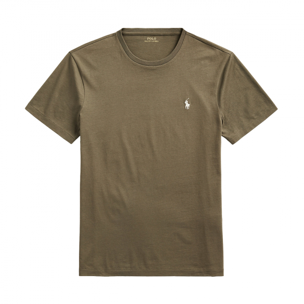 Polo Ralph Lauren Custom Slim Fit Crewneck T-Shirt Defender Green