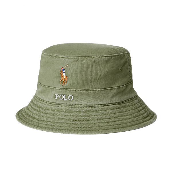 Polo Ralph Lauren Loft Bucket Hat Olive