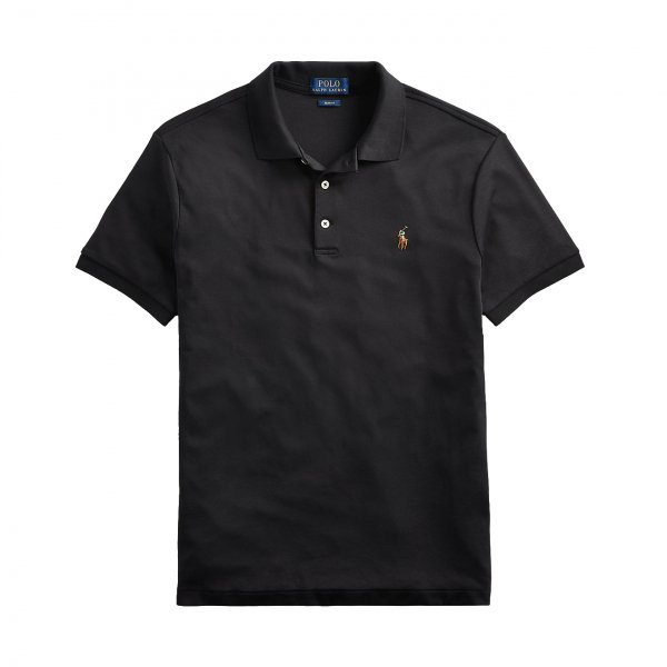 Polo Ralph Lauren Pima Cotton SS Polo Shirt Black