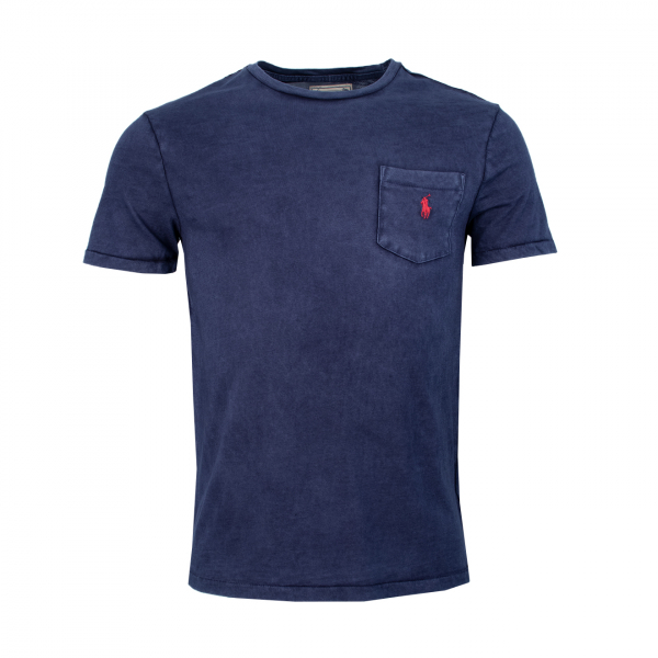 Polo Ralph Lauren Pocket Washed T-Shirt Navy