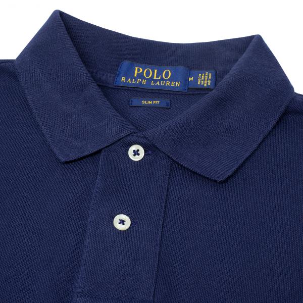 Polo Ralph Lauren Slim Fit Polo Shirt Navy