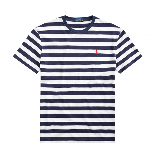 Polo Ralph Lauren Striped Crew T-Shirt Blue Multi