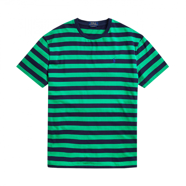 Polo Ralph Lauren Striped Crew T-Shirt Green Multi