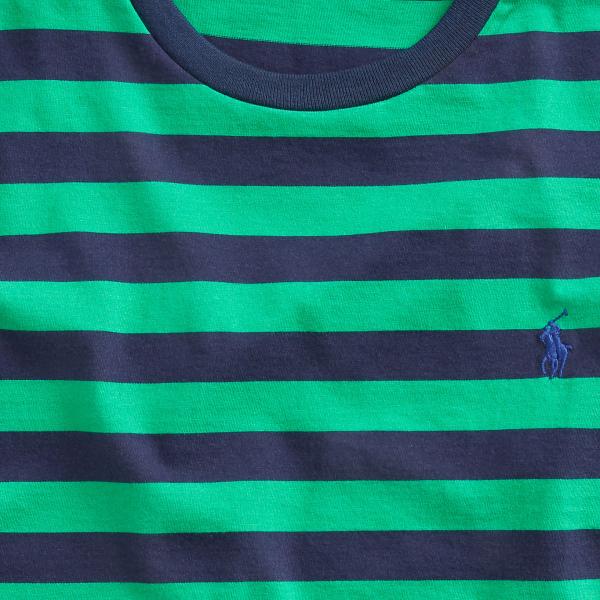 Polo Ralph Lauren Striped Crew T-Shirt Green Multi