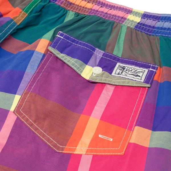 Polo Ralph Lauren Traveler Swim Short Green Check