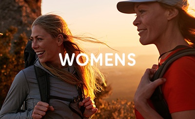 Two Women outdoors with Fjallraven Hiking Gear.