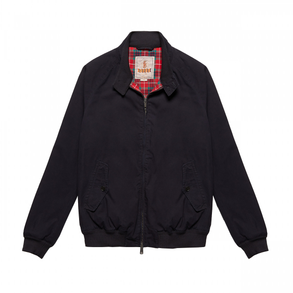 Baracuta G9 Peyton Place Jacket Midnight Blue
