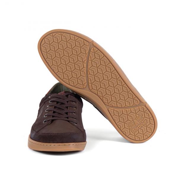Barbour Bilby Shoe Brown Nubuck