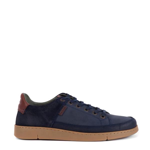 Barbour Bilby Shoe Navy Nubuck