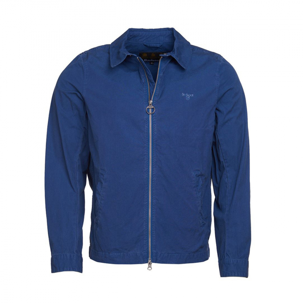 Barbour Essential Casual Jacket North Sea Blue