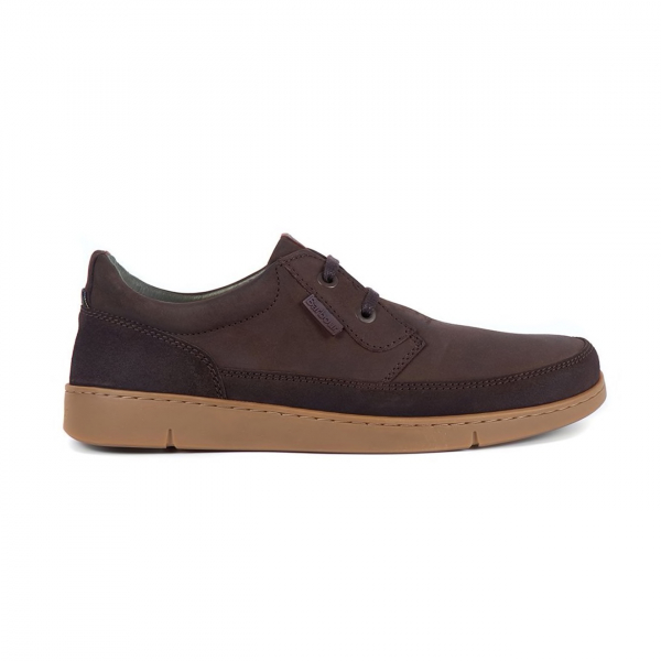 Barbour Glider Shoe Brown Nubuck