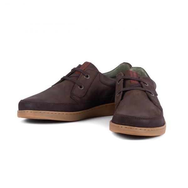 Barbour Glider Shoe Brown Nubuck