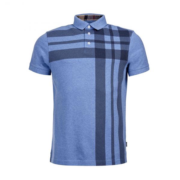 Barbour Howard Polo Shirt Powder