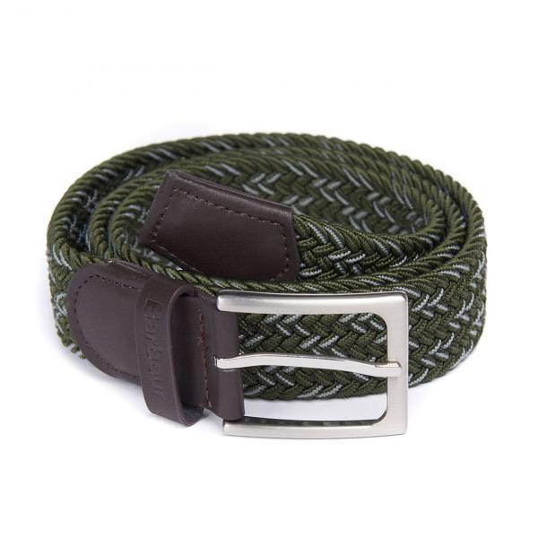 Barbour Mariner Ford Belt Sage / Agave / Green