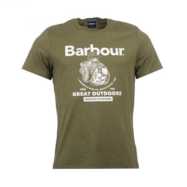 Barbour Outdoors T-Shirt Light Moss