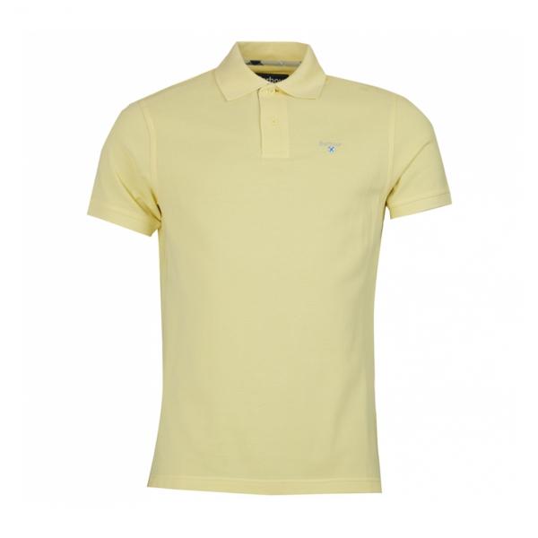 Barbour Sports Polo Lemon Zest