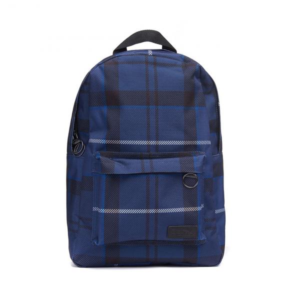 Barbour Tartan Backpack Ink Tartan