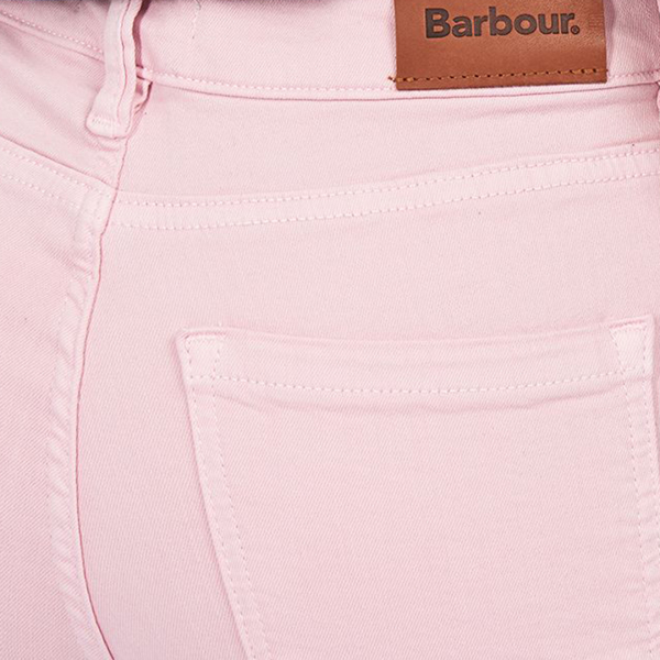 Barbour Womens Essential Slim Trousers Carnation