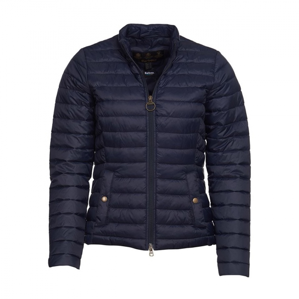 Barbour Womens Layla Quilt Jacket Navy