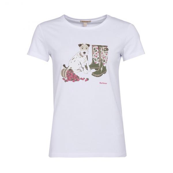 Barbour Womens Maya T-Shirt White