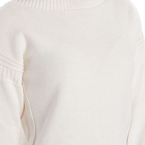 Barbour Womens Sailboat Knit Off White