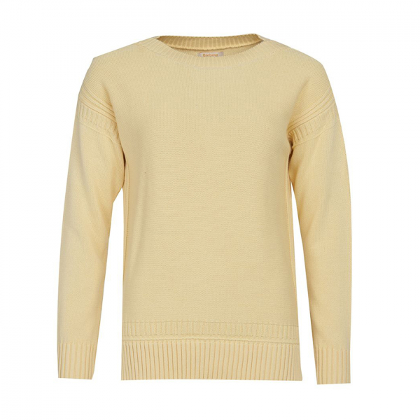Barbour Womens Sailboat Knit Primrose Yellow