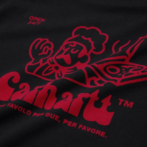 Carhartt Bene T-Shirt Black / Red